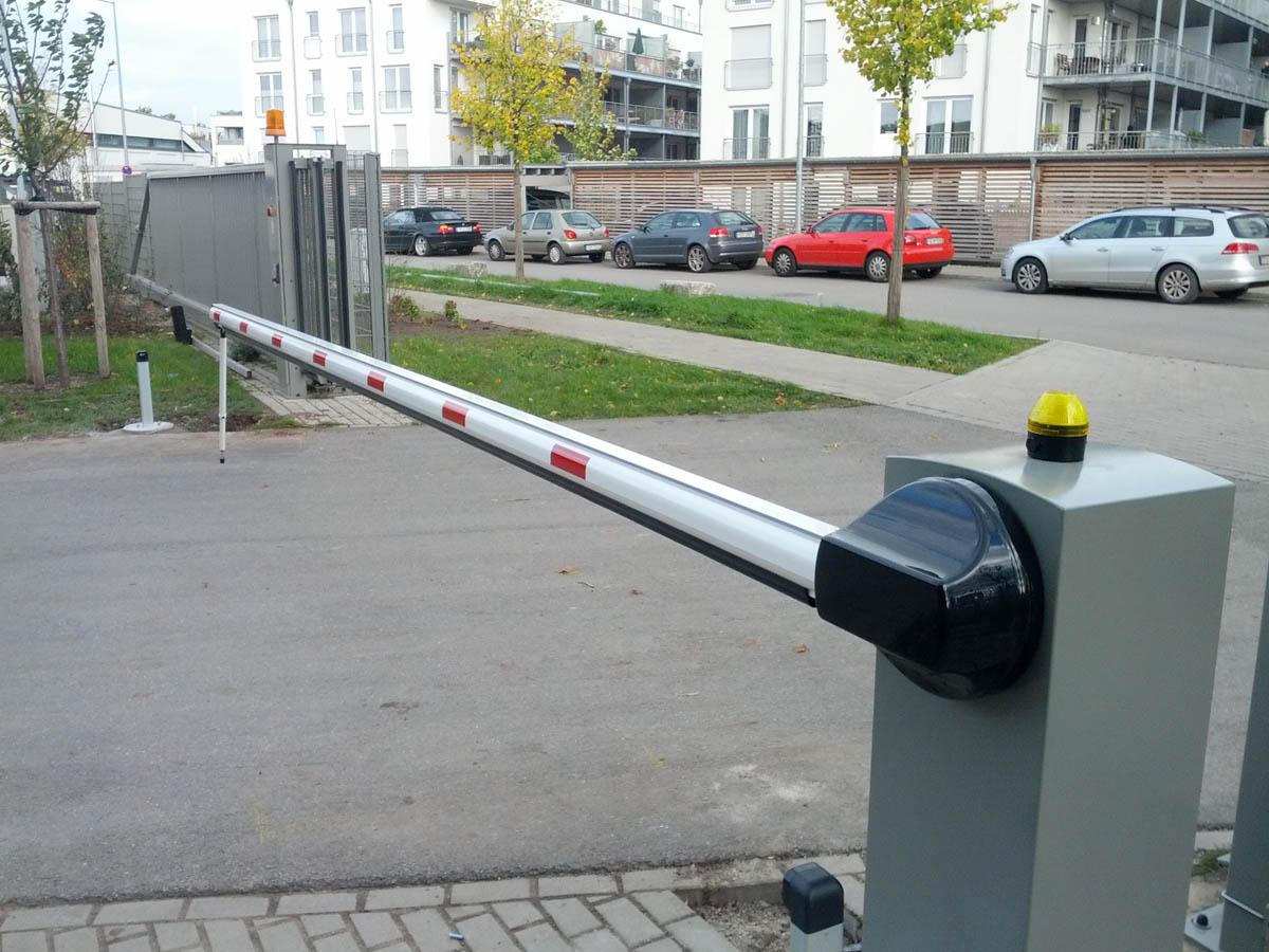 Acotec Gmbh Schranken Schrankenanlage Elektrische Schranke
